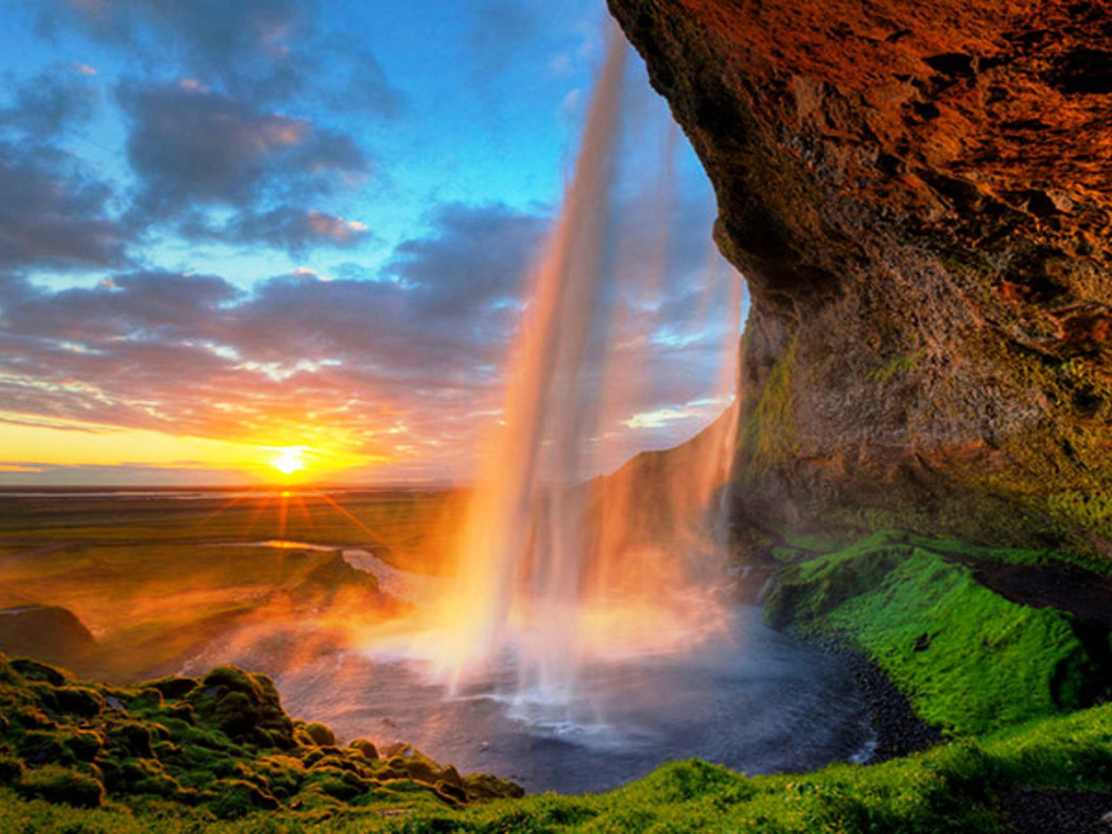 Victoria Falls Wallpaper Seljalandsfoss Is One Of The Most Famous Waterfalls In