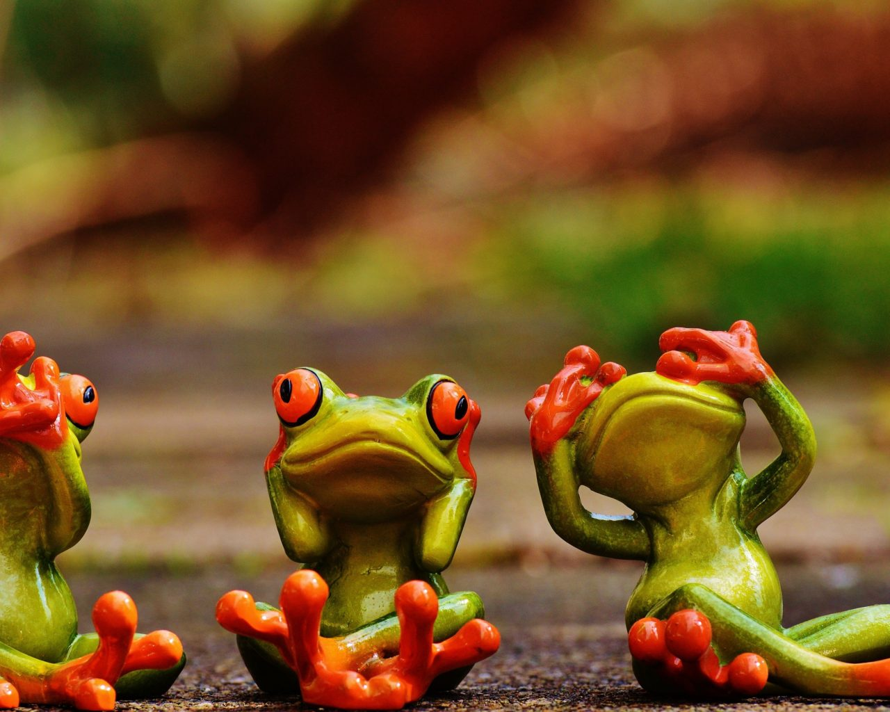 Wallpaper 3d Windows 7 1366x768 Cute Green Frogs With Red Eyes 3 D Wallpaper Hd 3840x2160