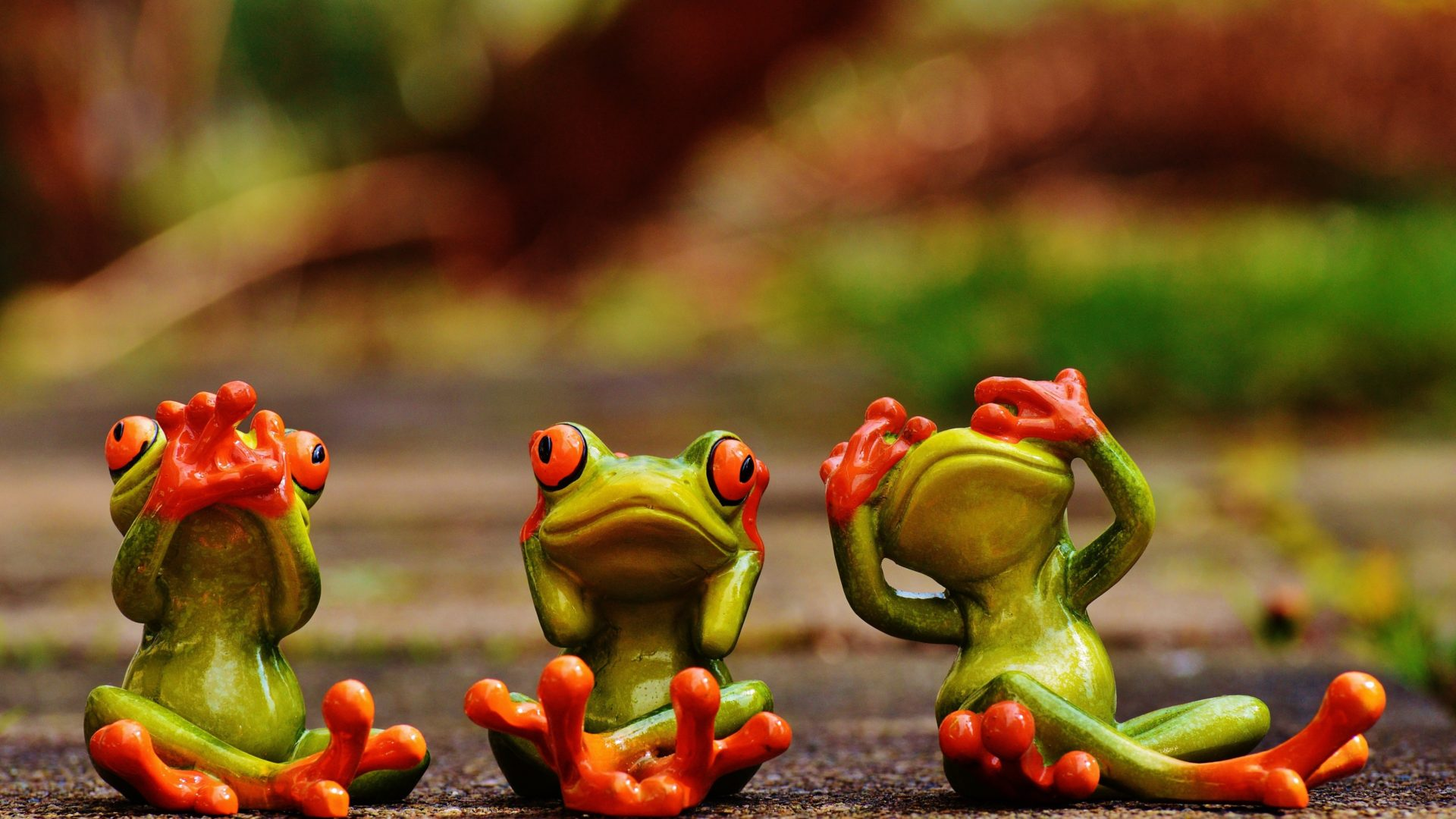 Cute Lock Screen Wallpaper For Ipad Cute Green Frogs With Red Eyes 3 D Wallpaper Hd 3840x2160