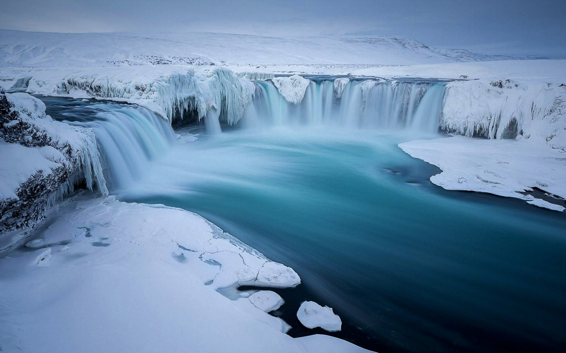 Angel Falls Wallpaper Hd Ice Go 240 Afoss Waterfall In The Winter Snow Ice Iceland