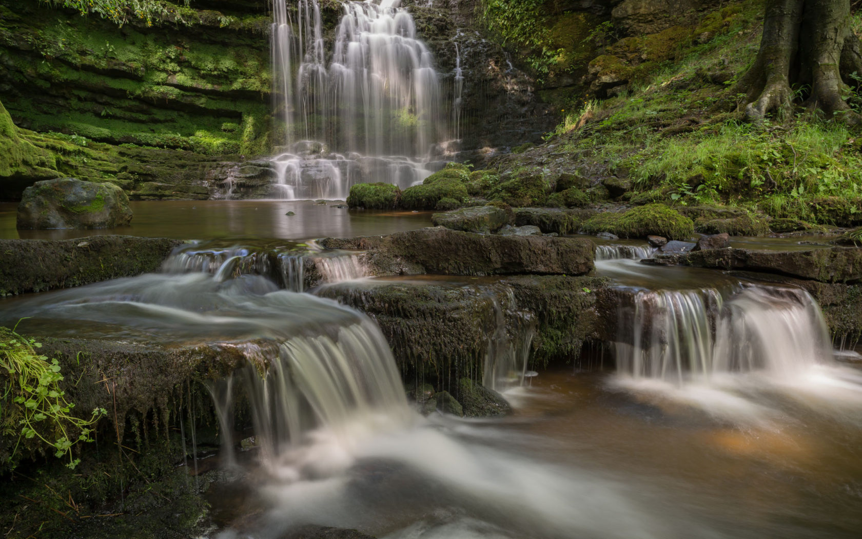 Niagara Falls Wallpaper Nature Scaleber Force Waterfall Yorkshire Dales National Park