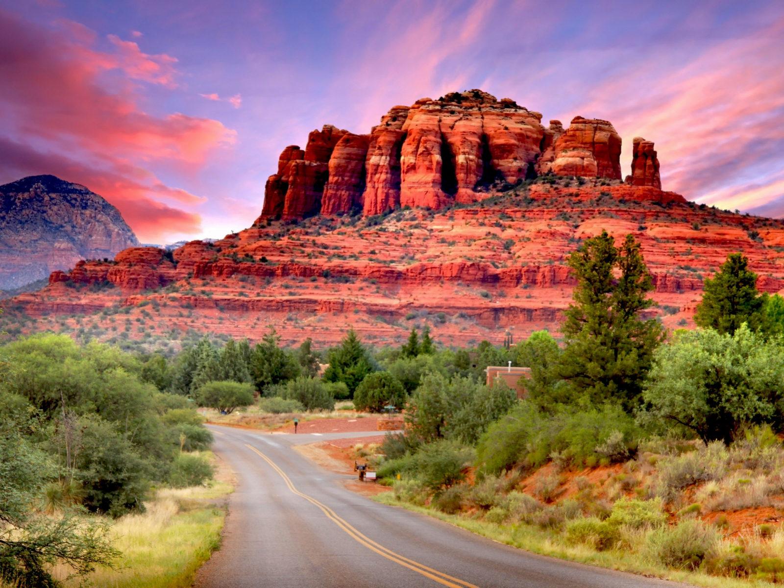 New Zealand Wallpaper Iphone X Fly Drive Scenario Of Sedona Arizona United States