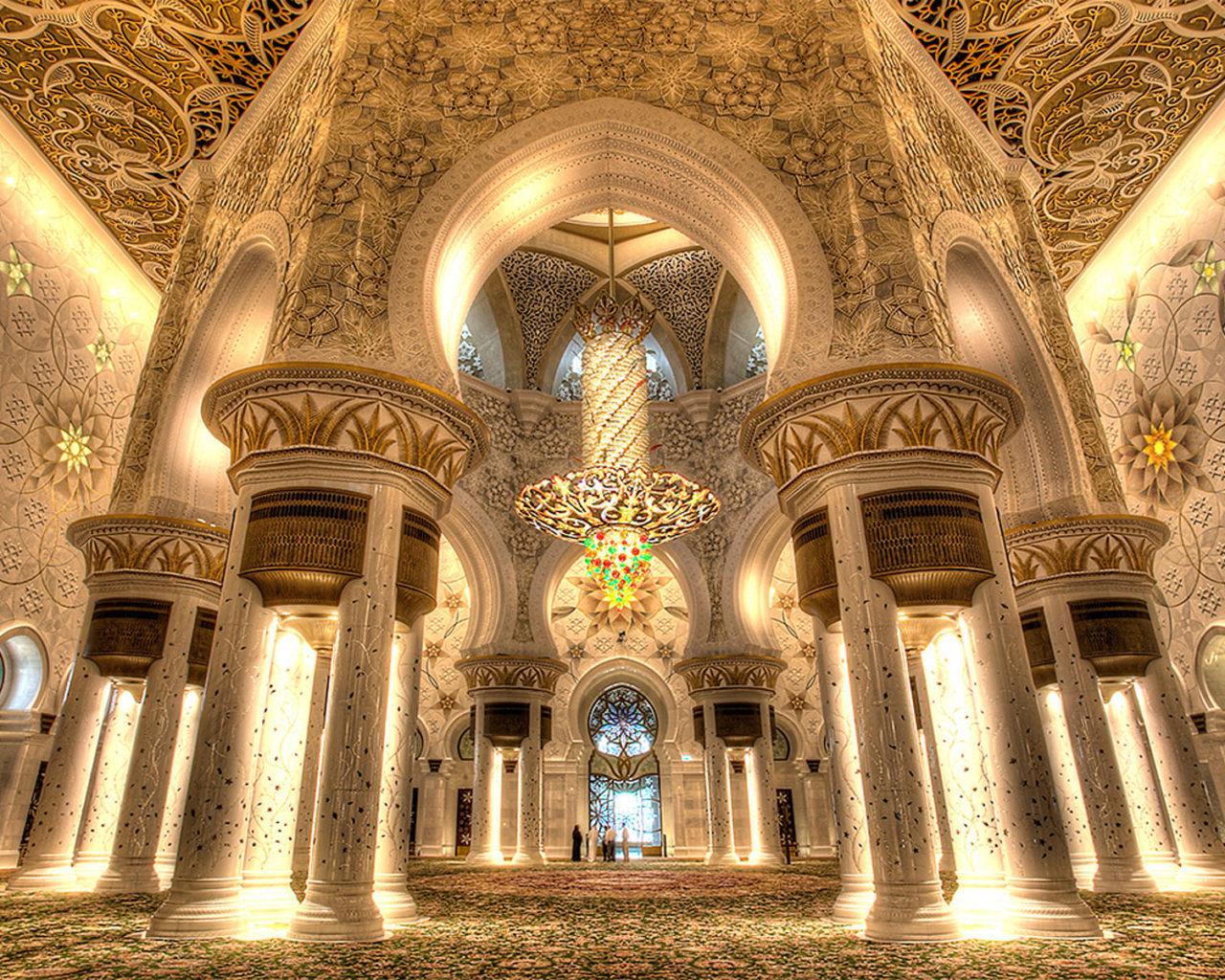 Inside Of Iphone X Wallpaper Grand Mosque Sheikh Zayed Abu Dhabi Interior Design Main