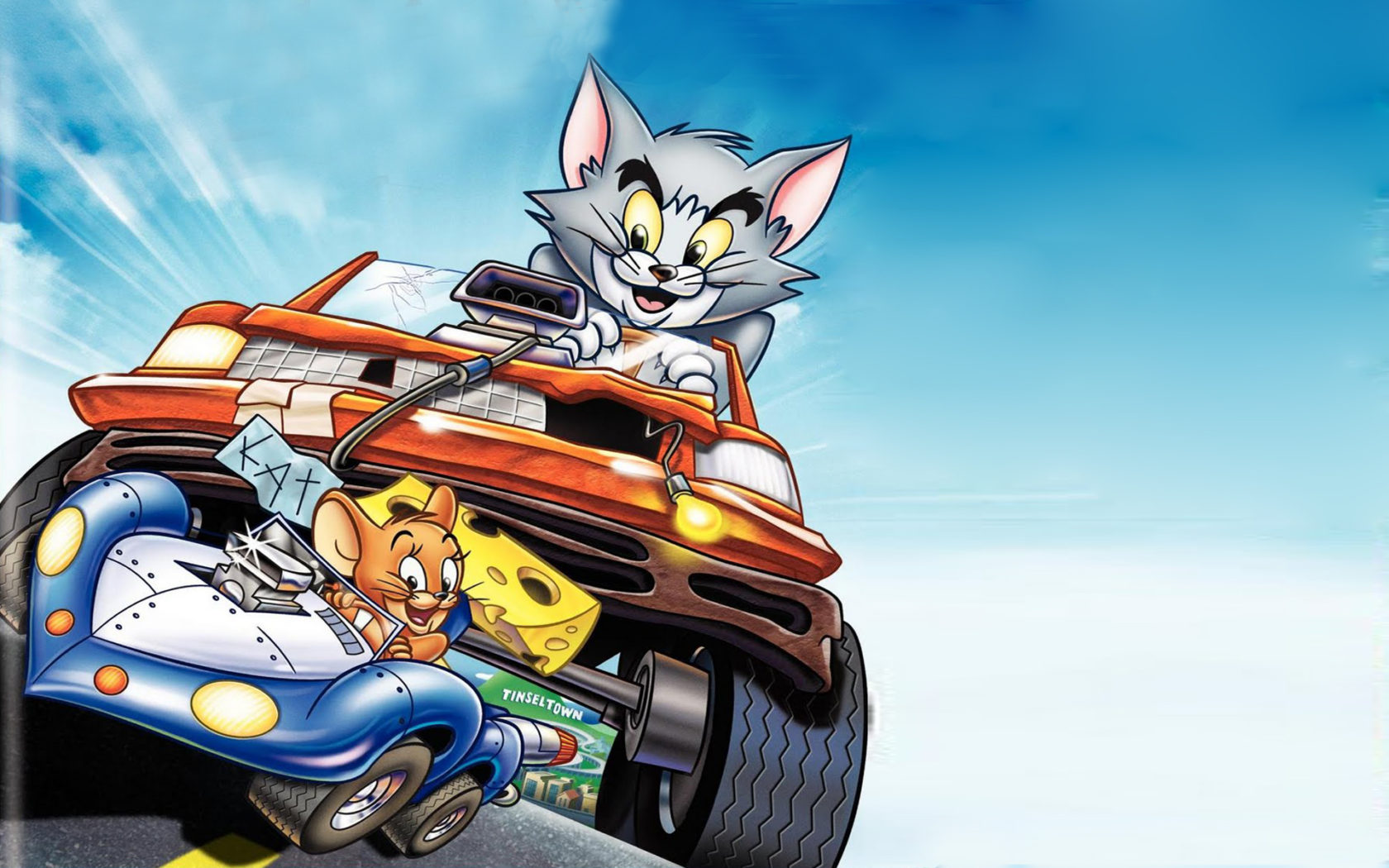 Small Size Car Wallpapers Tom And Jerry The Fast And The Furry Animated Action