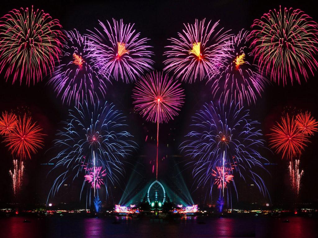 Wallpaper Batman Iphone X Happy New Year New Years Eve Fireworks In Australia