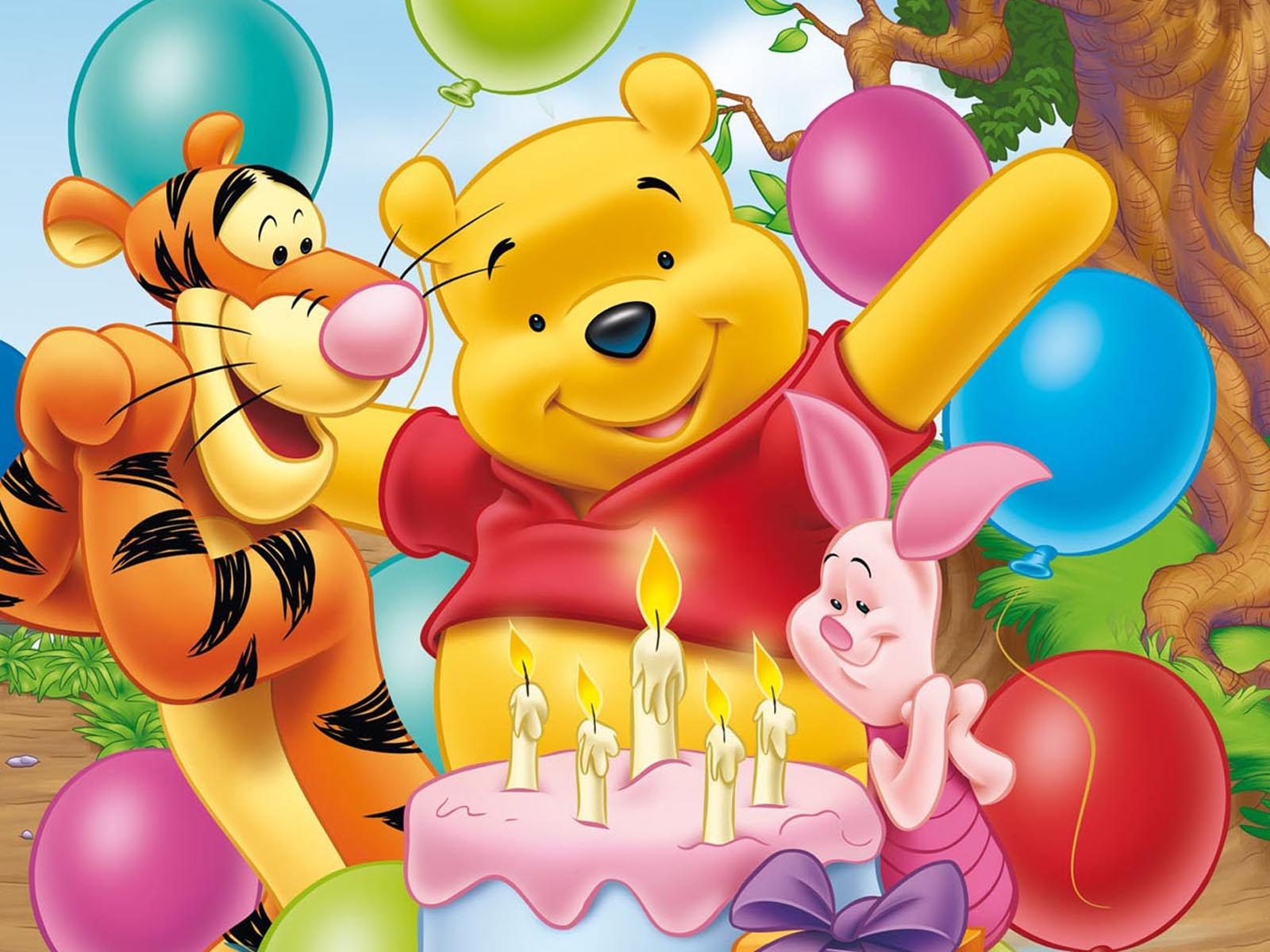 Winnie The Pooh Tigger Piglet Eeyore Celebration Of