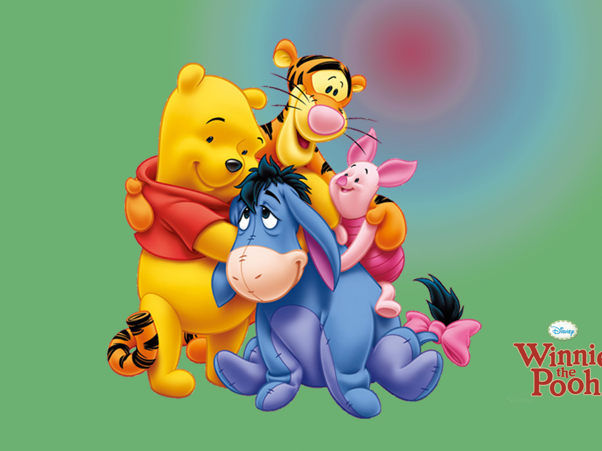 Winnie The Pooh And Friends Cartoon Image For Desktop Hd
