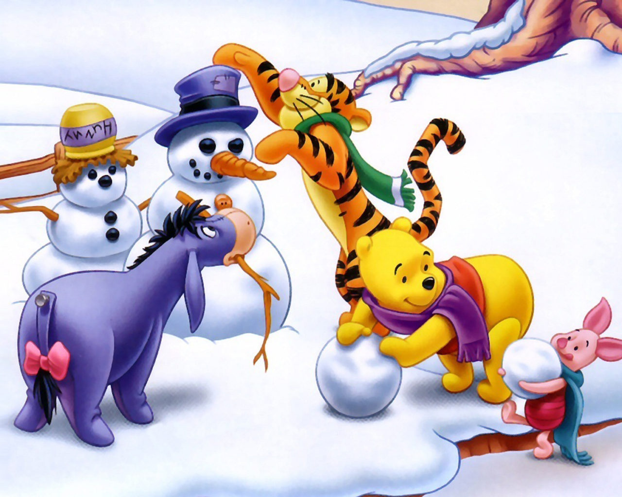 Tigger Winter Wallpaper