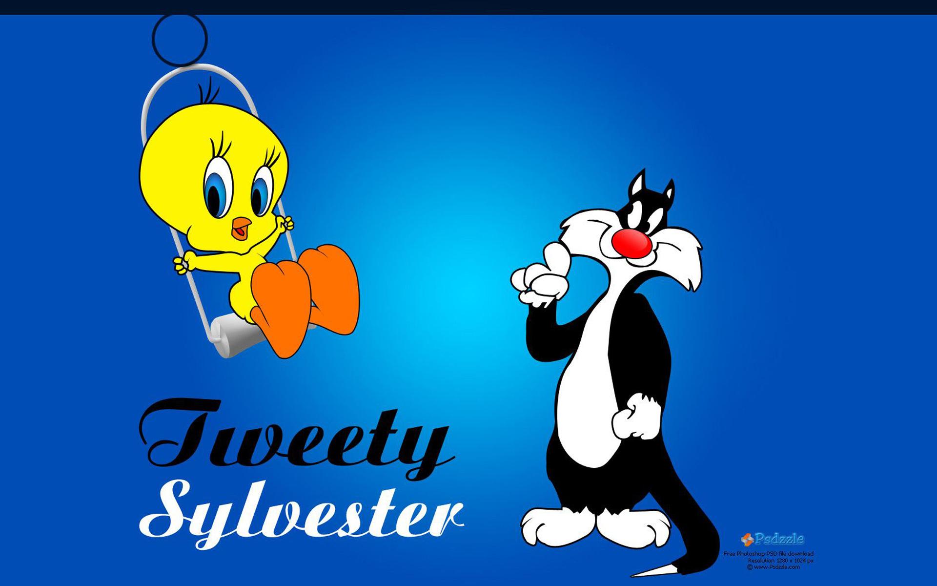 Cute Lock Screen Wallpapers For Ipad Lonnie Tounes Cartoon Tweety Bird Amp Sylvester Cat Swing