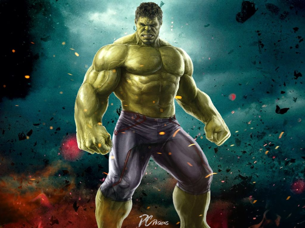 Hulk Avengers Age Of Ultron Muscle Fists Hd Wallpaper For