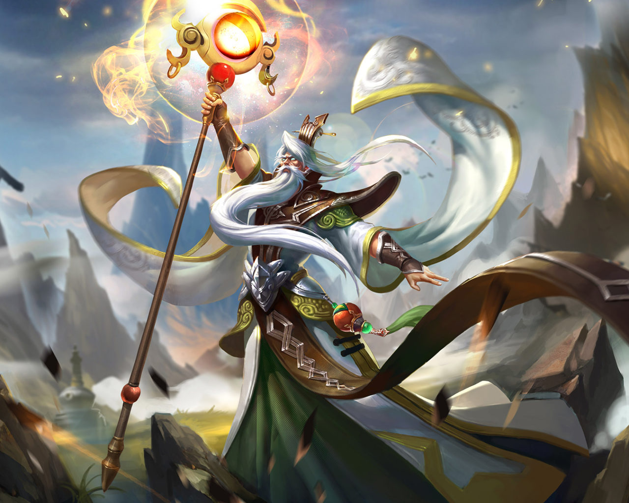 Gaming Wallpaper Iphone X King Of Glory Five Most Powerful Heroes Mage Skin Ginger