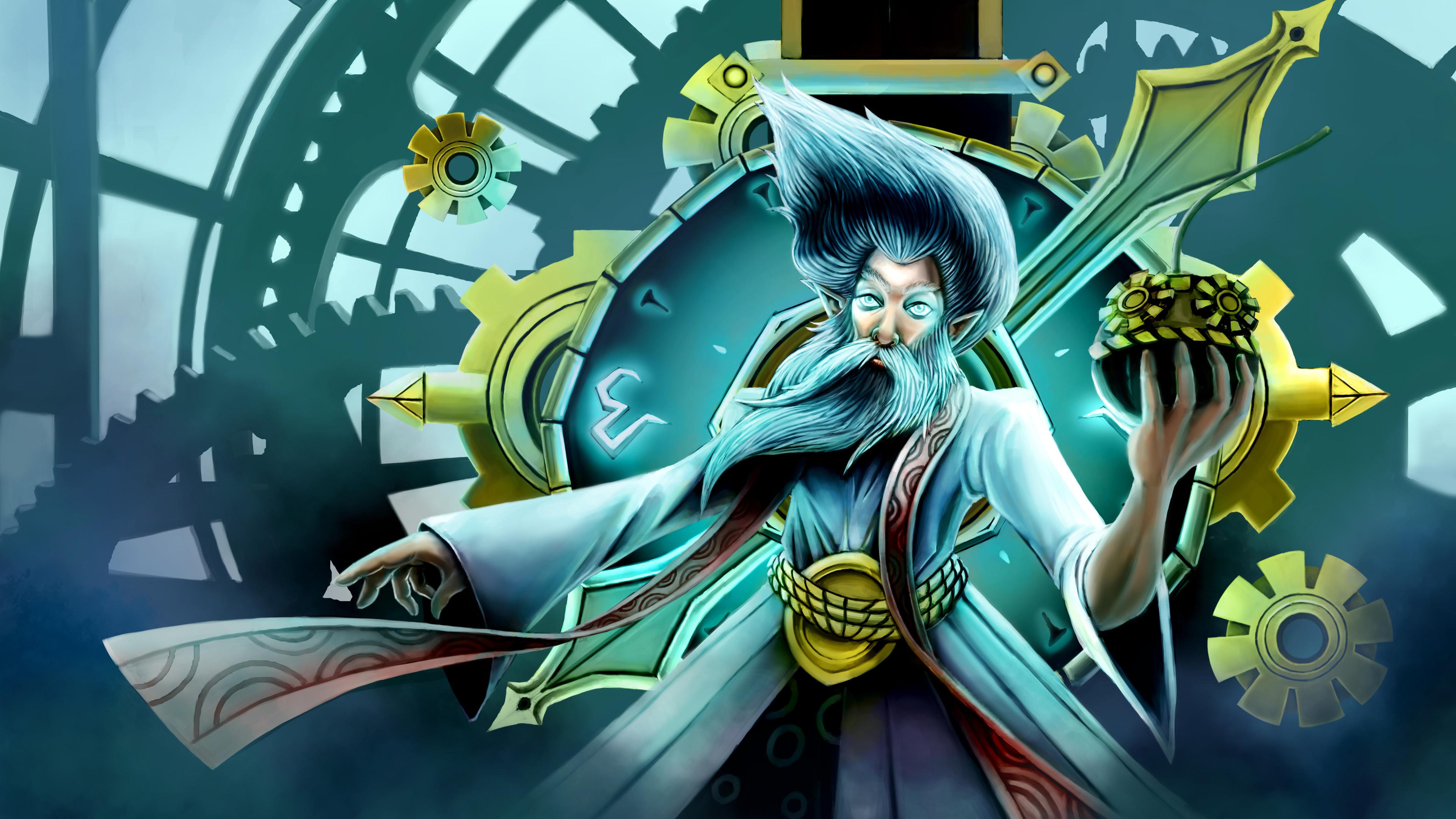 World Of Warcraft Wallpaper Hd Video Game League Of Legends Zilean The Chronokeeper Mage