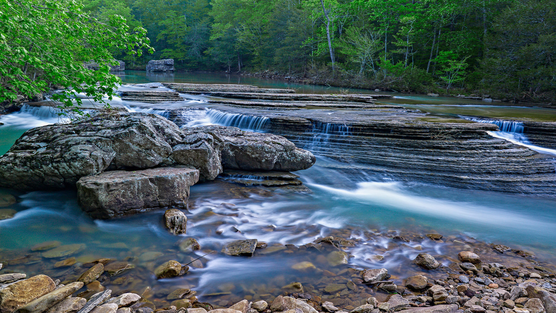 Free Fall Wallpaper For Ipad 2 Six Finger Falls Trail Arkansas Hd Wallpapers 1920x1200