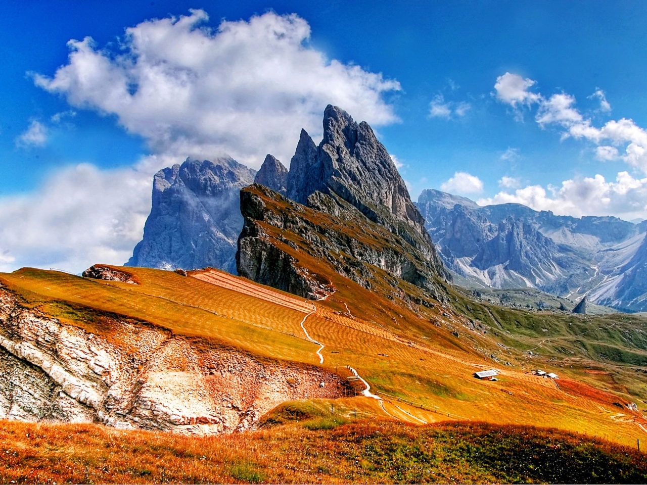 Granite Wallpaper Iphone Trentino Lugares Dolomites Mountains Of Italy Photo