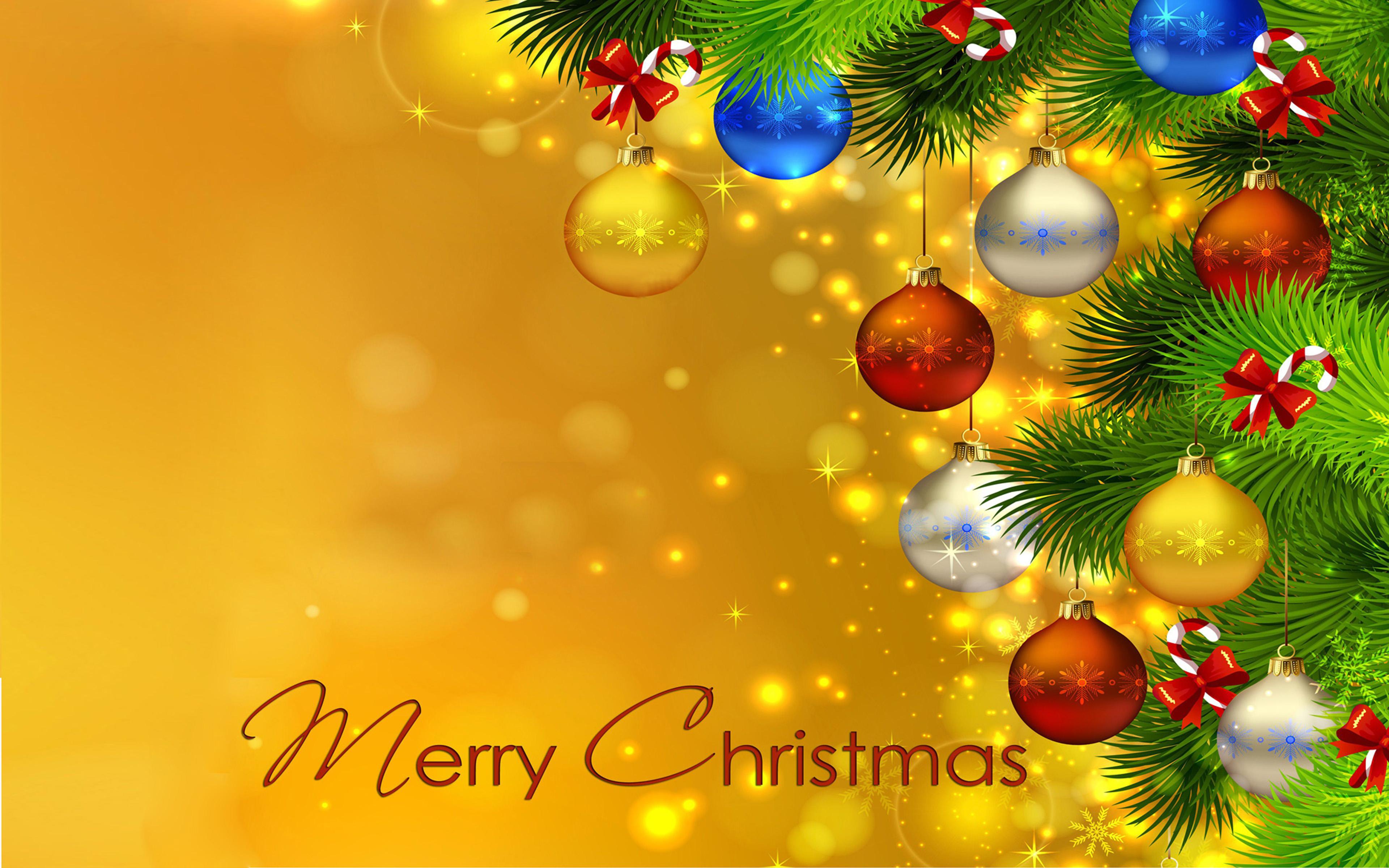 Iphone X Template Wallpaper Merry Christmas Christmas Tree Colorful Christmas Balls