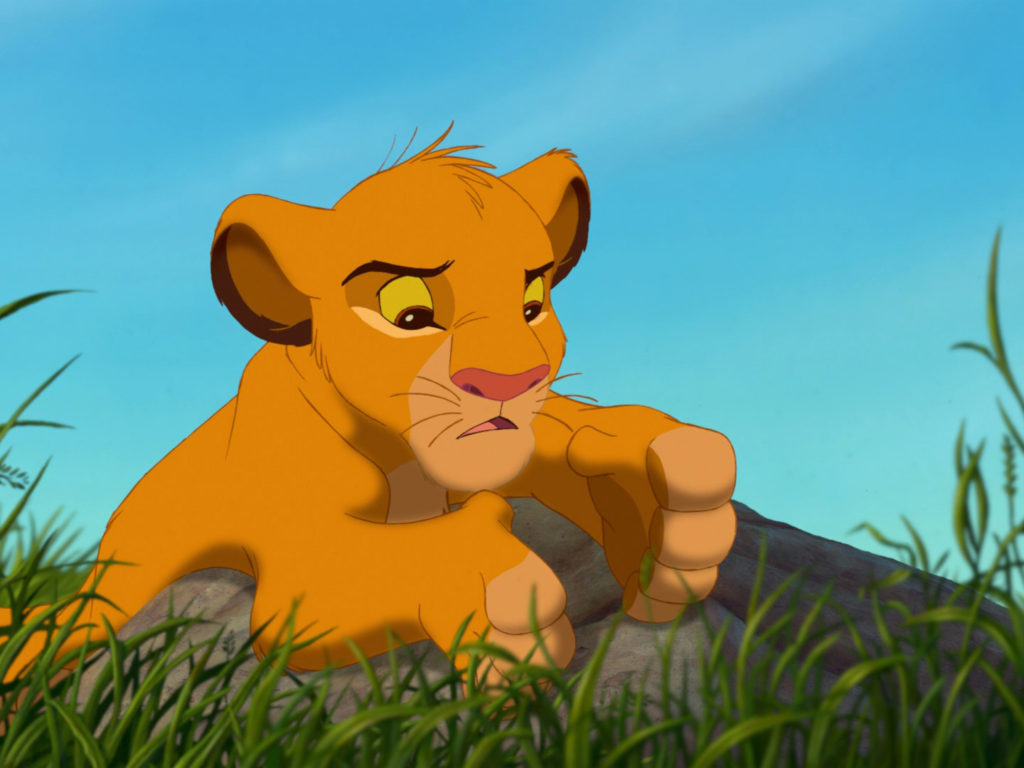 M Iphone Wallpaper The Lion King Cartoon Adventures Of The Young Lion Simba