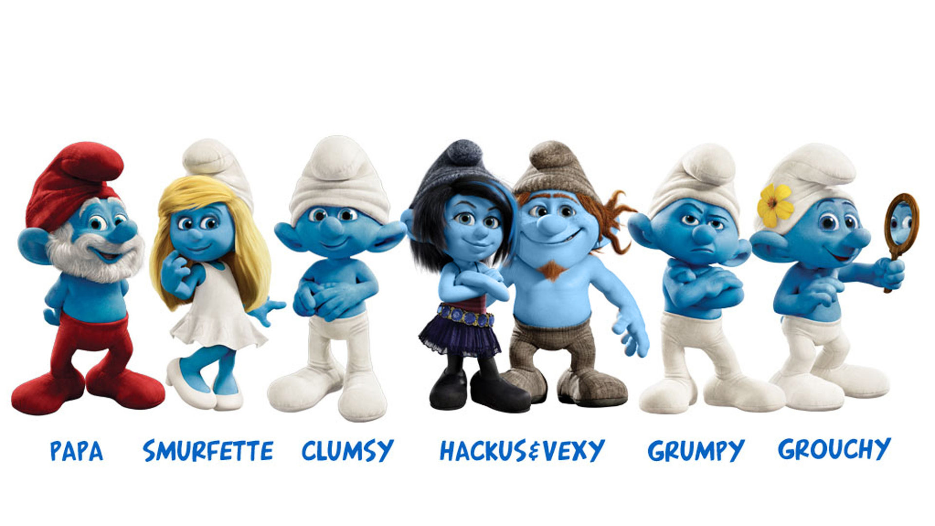 3d Animation Wallpaper For Android Mobile The Smurfs 2 Character Cartoons Desktop Background Hd