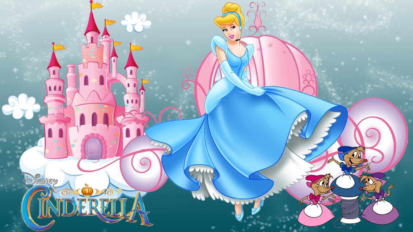 Hd Car Wallpapers For Pc 1024x768 Castle Of Princess Cinderella Cartoon Walt Disney Desktop