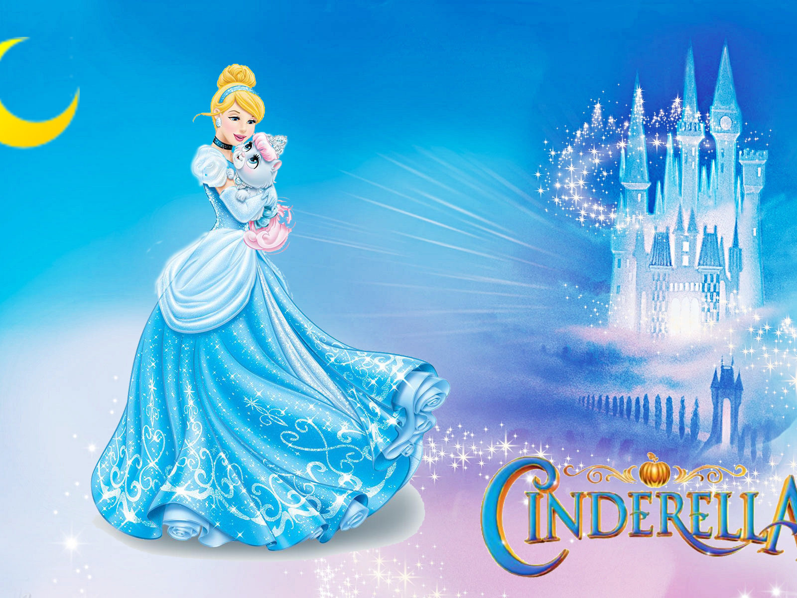 Walt Disney World Iphone Wallpaper Princess Cinderella Lovely Fairy Tale Cartoon Walt Disney
