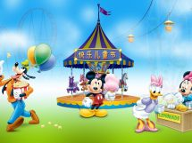 Happy Day Mickey And Minnie Mouse Daisy Duck Goofy In