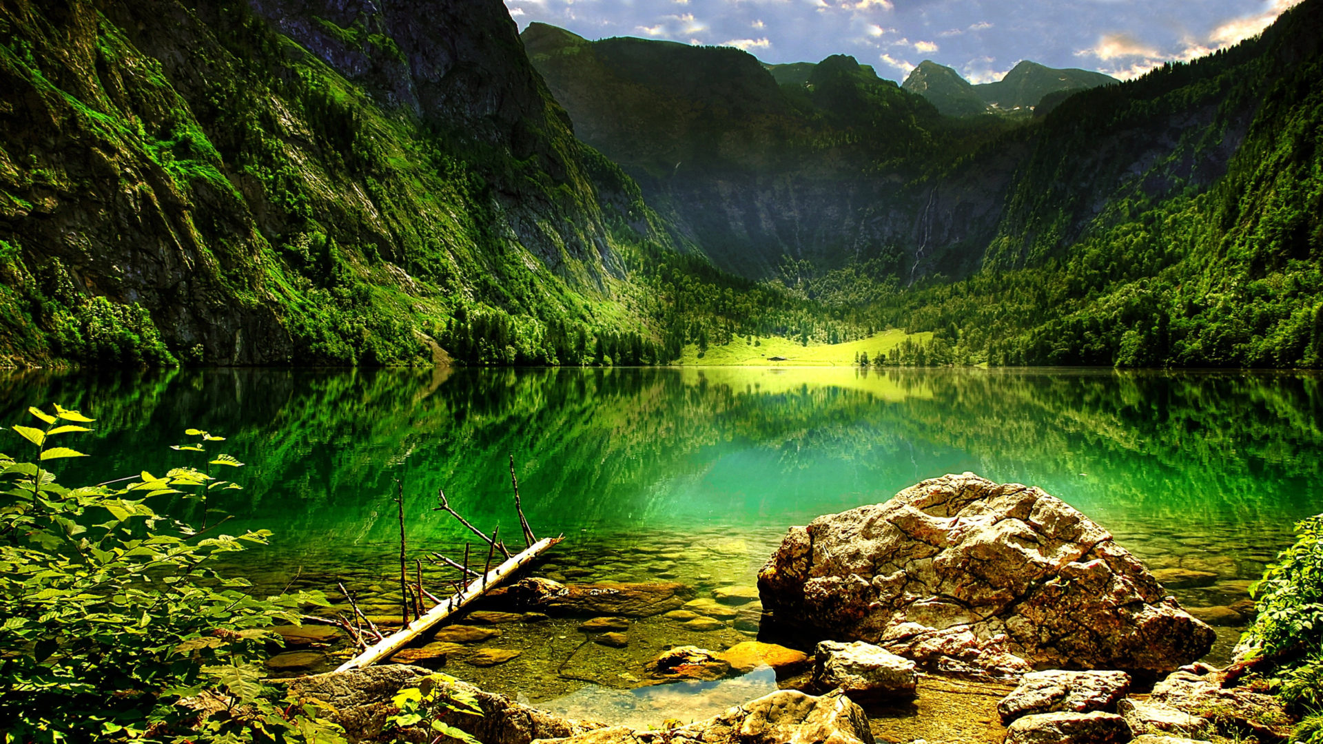 Wallpaper Hp Iphone X K 246 Nigssee Mountain Lake In The Bavarian Alps Lake In