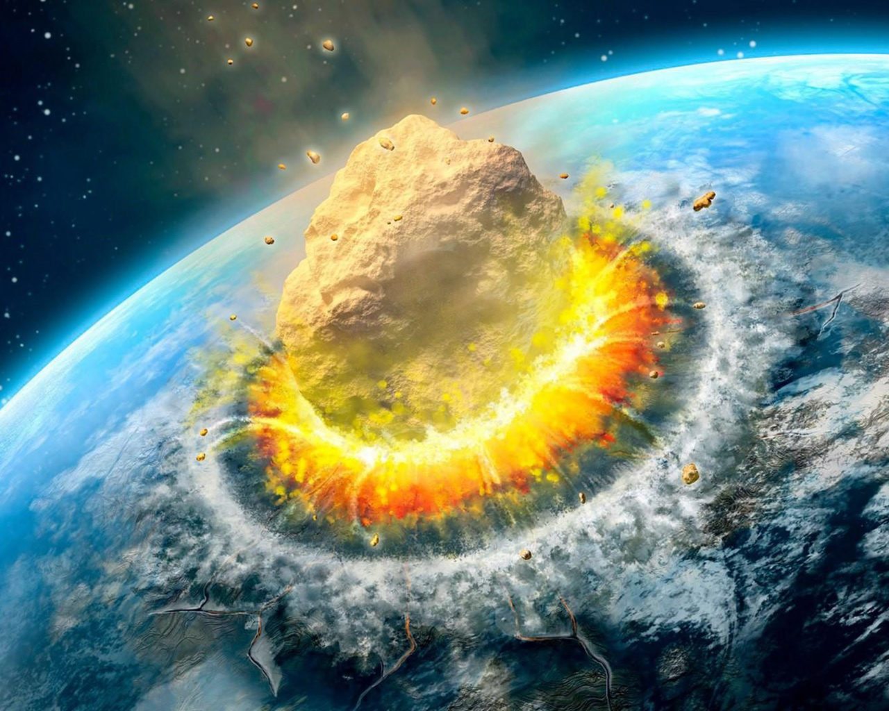 Iphone Moving Wallpaper Iphone X Asteroid Impact Falling Asteroid On Earth Ultra Hd