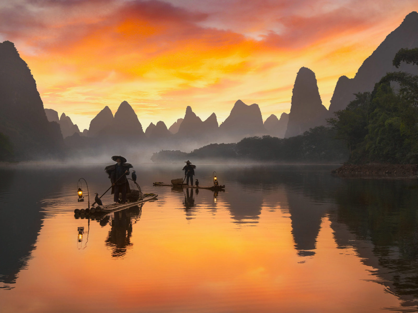Animals Wallpapers For Mobile Free Download Li River In China View From Xialong In Near On Xingping