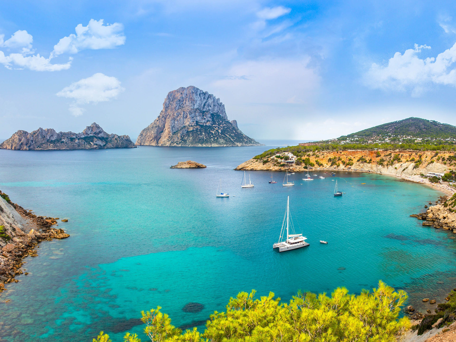 Iphone X Most Stunnign Wallpapers Spain Island Ibiza Balearic Islands Archipelago In The