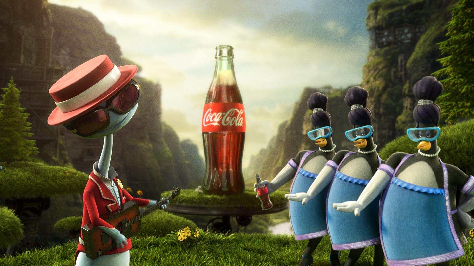3d Glass Full Hd Wallpaper Download Wallpaper 1920x1080 Coca Cola Images Drink
