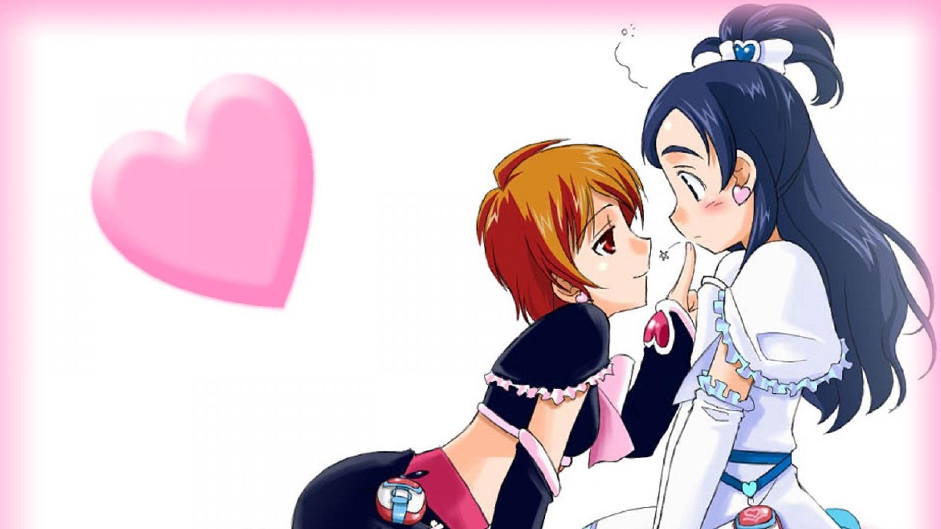 1080p Pretty Anime Girl Wallpaper Download Wallpaper 1920x1080 Futari Wa Pretty Cure