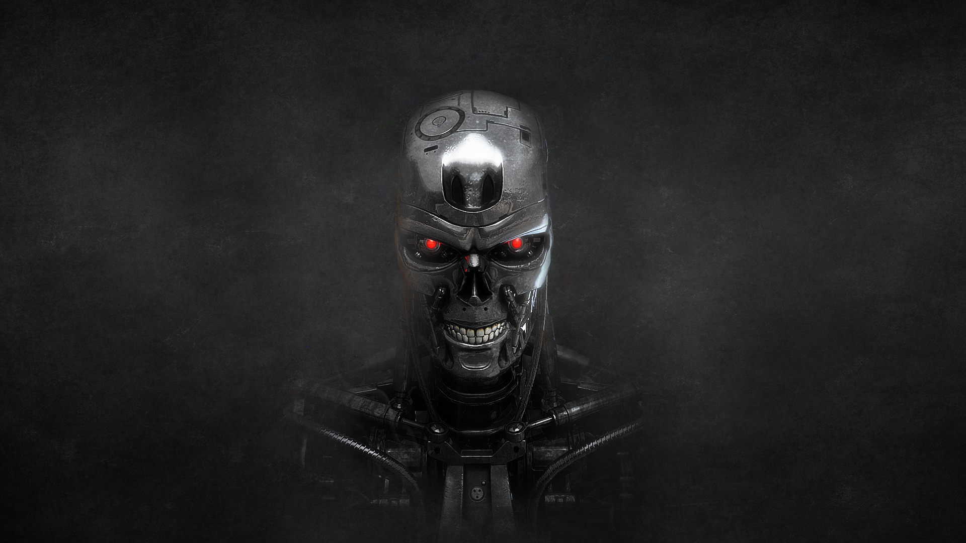 Patterns For Girls Wallpaper High Defintion Download Wallpaper 1920x1080 Terminator Skeleton Metal