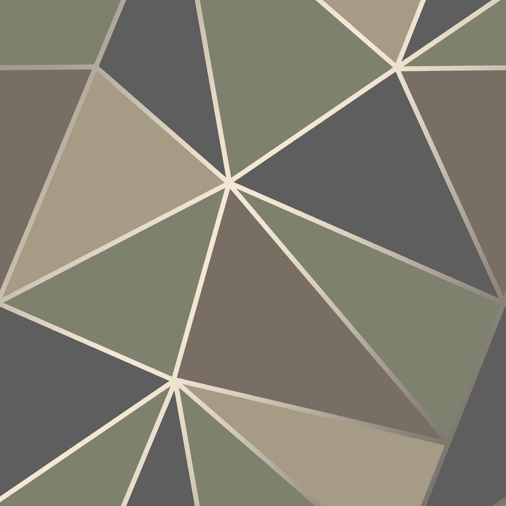 geometric design wallpaper  FD42000 Fine Decor Apex Geo Camo Geometric Design Wallpaper ...