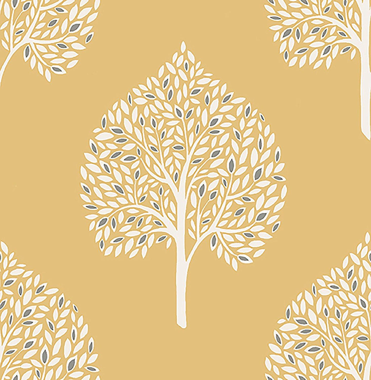 2702 22708 Grove Mustard Tree Mirabelle Street Prints Wallpaper
