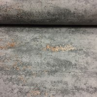 Orion Concrete Industrial Stone Distressed Metallic Copper ...