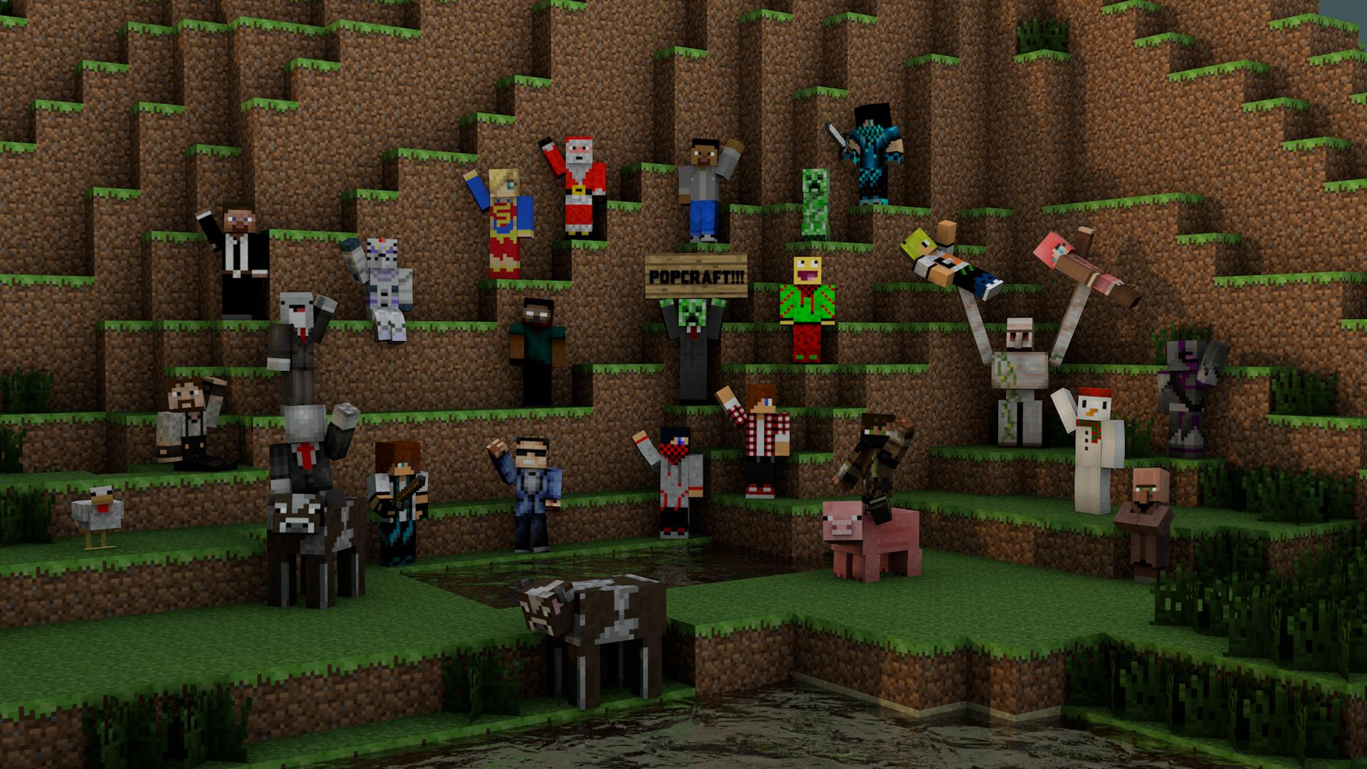 Panda Black And White Wallpaper Download Minecraft Player Wallpaper Gallery