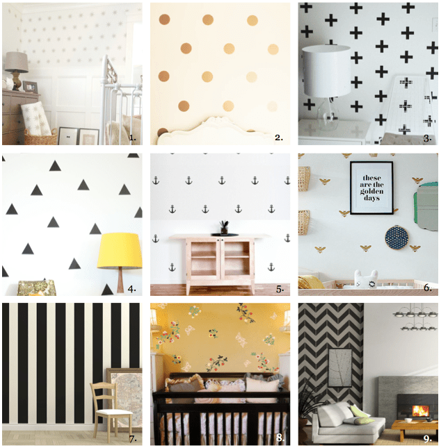 Download Wall Decals That Look Like Wallpaper Gallery