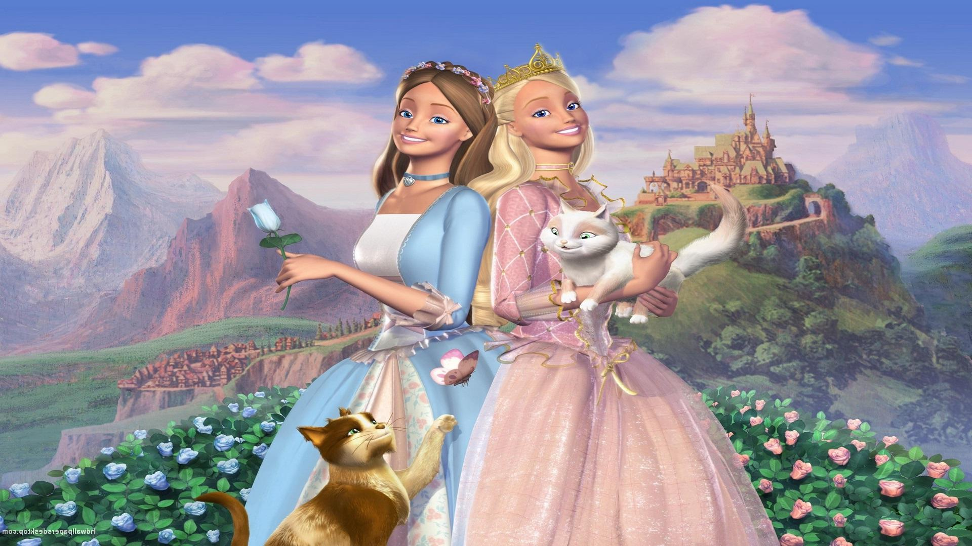 Princess Wallpaper For Girls Download Animated Barbie Wallpaper Gallery