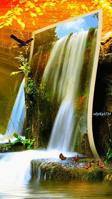 Download Animated Waterfall Wallpapers For Mobile Gallery