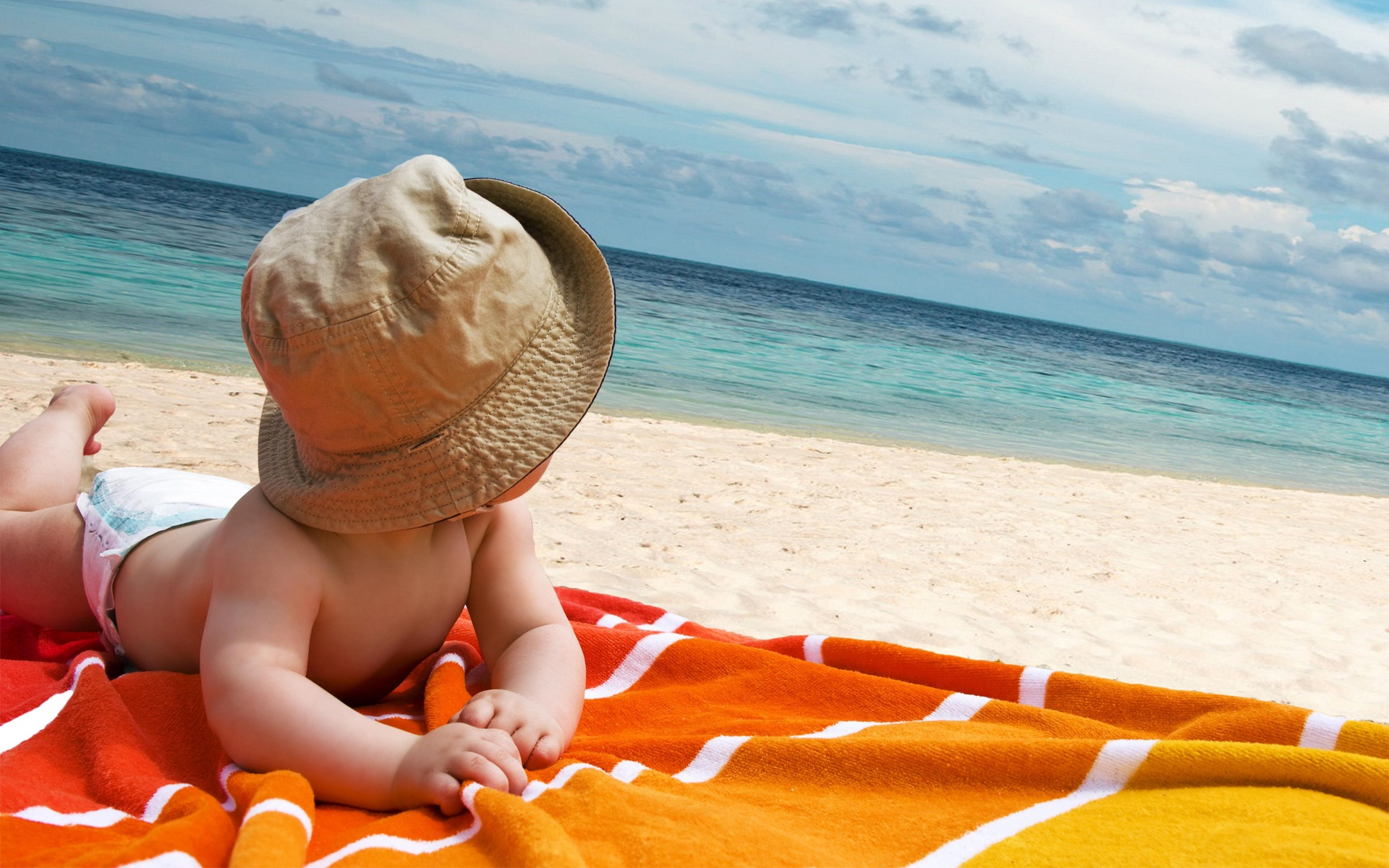 Cute Babies Free Download Wallpapers Download Beach Babies Wallpapers Gallery