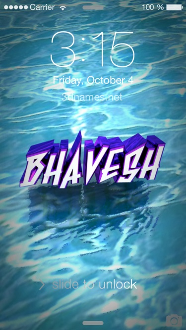 Mj 3d Name Wallpaper Download Bhavesh Name Wallpaper Gallery