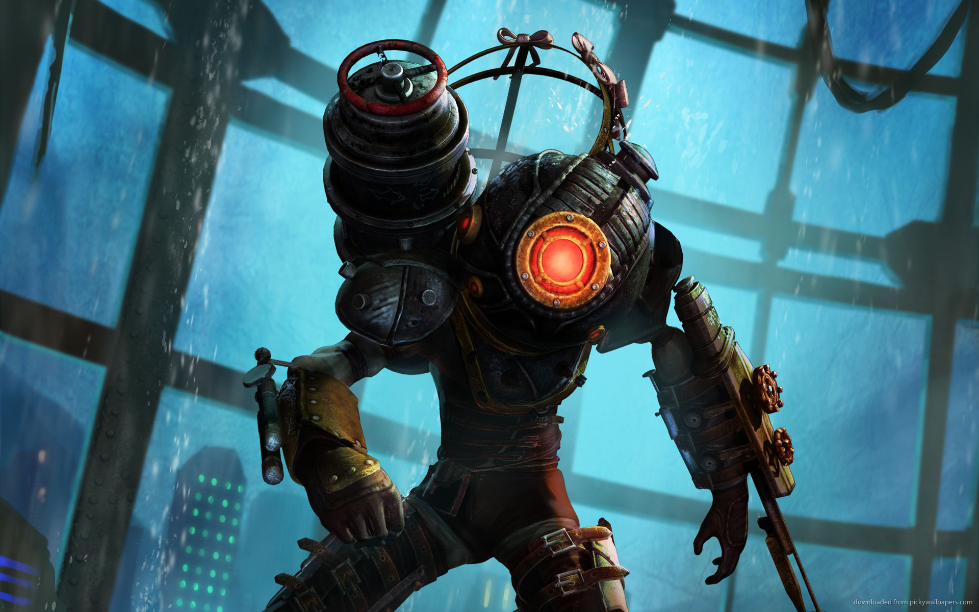 3d Live Wallpaper Download Pc Download Bioshock Big Sister Wallpaper Gallery