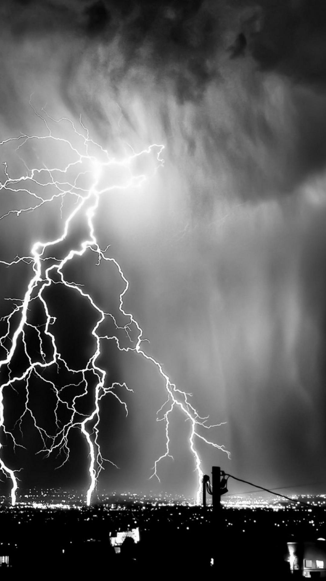 Wallpaper Iphone Pastel Download Black And White Lightning Wallpaper Gallery