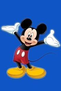 Cute Cartoon Birthday Wallpaper Download Blue Mickey Mouse Wallpaper Gallery