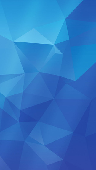 Best Live Wallpaper App For Iphone X Download Blue Polygon Wallpaper Gallery