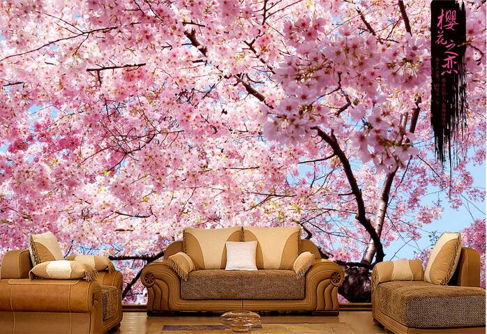 Wallpaper Quotes For Bedroom Download Cherry Blossom Wallpaper For Walls Gallery