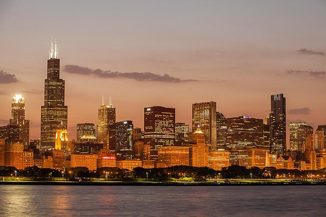 2017 Most Beautiful Girls Wallpaper Download Chicago Skyline Wallpaper Gallery