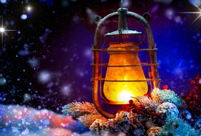 Sweet Love Quotes Wallpaper Download Download Christmas Lantern Wallpaper Gallery