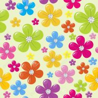 Download Colorful Flower Wallpaper Designs Gallery