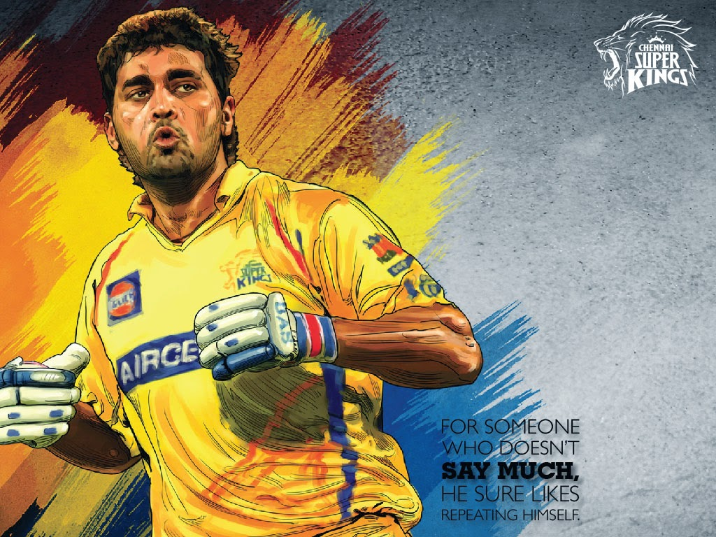 Dhoni Wallpaper With Quotes Download Csk Wallpapers Download Gallery
