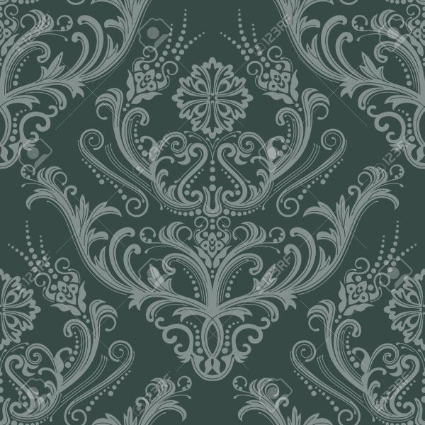 20 green damask wallpaper pictures and ideas on carver museum